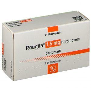 Упаковка препарата Карипразин (Реагила)