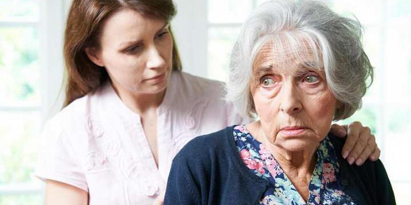 Психические расстройства у пожилых людей